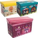 Staubox/Spielzeugbox / Aufbewahrungsbox/Spielzeugkiste (Zirkus)
