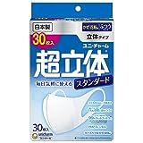 Japan Facemask - (Made in Japan PM2.5 corresponding) supersolid mask Standard normal size 30 pieces (unicharm) *AF27*