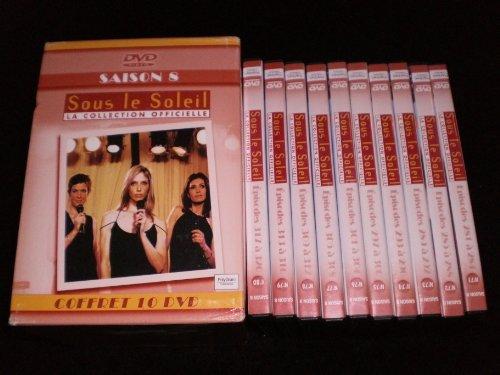 Coffret 10 DVD Sous le Soleil Intégrale saison 8