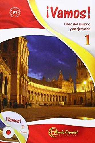 Vamos: Libro Del Alumno No. 1: Libro Del Alumno + Ejercicios + CD 1 (Spanish Edition) by Edilingua Pantelis Marin (2007-05-01)