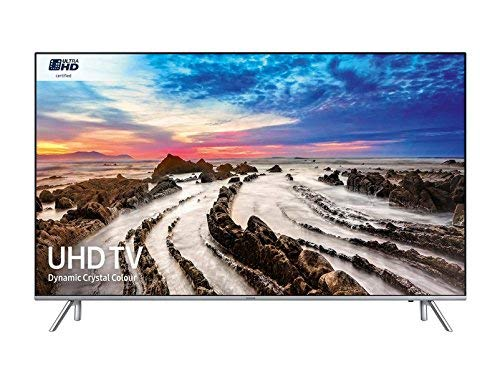 Samsung UE75MU7000TXXU 75-Inch 7 Series LED Smart TV - Black/Silver (Certified Refurbished)