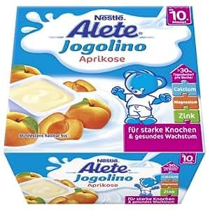 Alete Jogolino Aprikose, 6er Pack (6 x 400 g Packung)