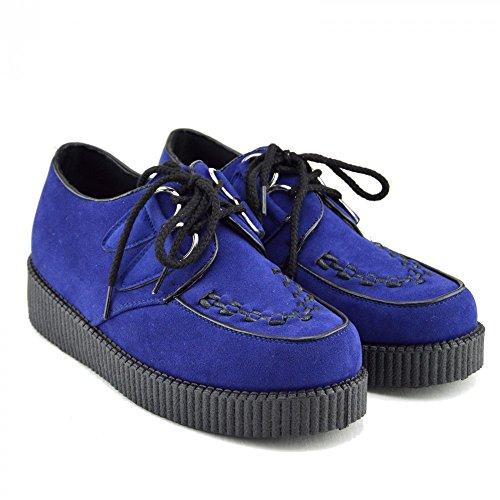 Kick Chaussures - Donna Liane Moda Scarpe Blu Royal