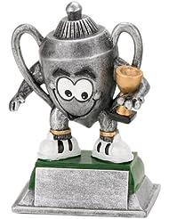 S.B.J Sportland -Trofeo deportivo (12 cm)