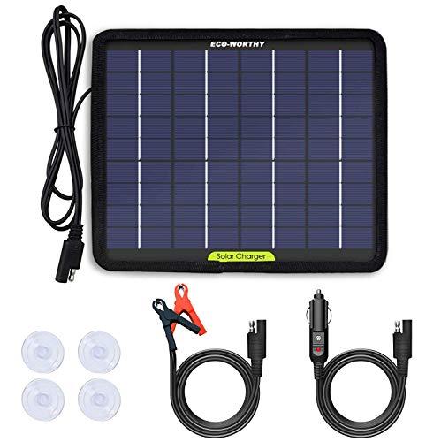 Imagen de Cargador Portátil Solar Eco-worthy por menos de 20 euros.