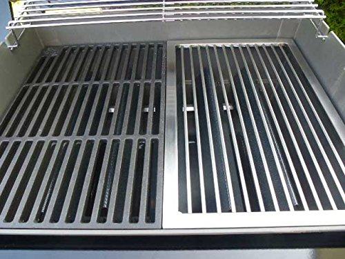 Edelstahl Grillrost für eine Hälfte für WEBER SPIRIT E 210 bis 2012 / Regler seitlich !