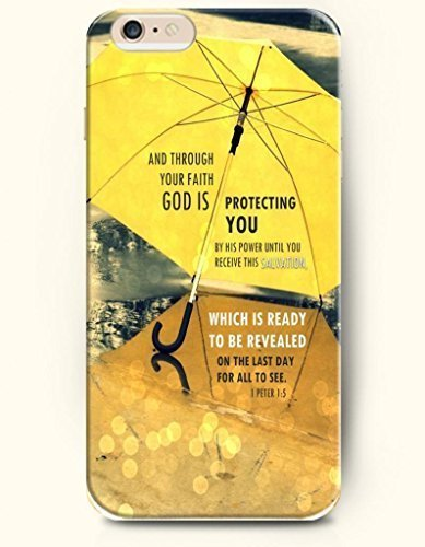 Custodia cover per Apple iPhone 4/4S hard case * * New * * case with the design of and through your Faith God is protecting you by His Power until you Receive this Salvation. Which is Re