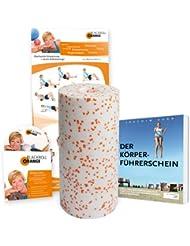blackroll-orange Massagerolle Med Bundle, 30 cm