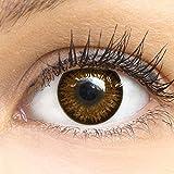 Grüne kontaktlinsen für braune augen