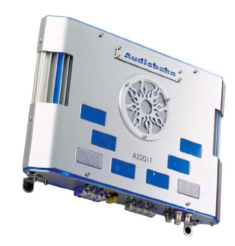 Audiobahn A2201T, 2-Kanal Class A/B Mosfet Power Amplifier, Verstärker Audiobahn Stereo