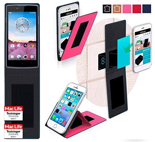 reboon Hülle für Oppo Neo 3 Tasche Cover Case Bumper | Pink | Testsieger