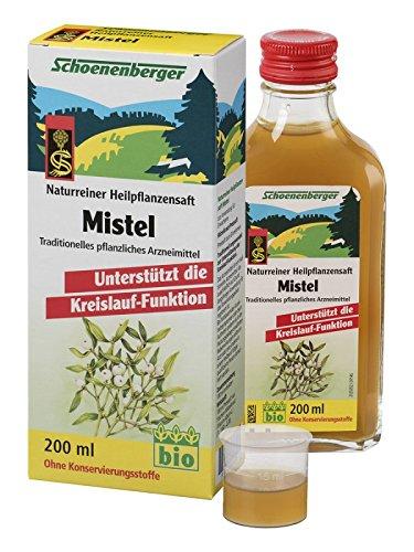 Preisvergleich Produktbild Schoenenberger Mistelsaft 200 ml