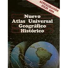 Nuevo atlas universal geografico historico (actualizado Julio 1992)