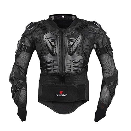 Fastar Chaqueta de Moto,Chaqueta Protectora - Profesional de Motocicleta Protección del Cuerpo...