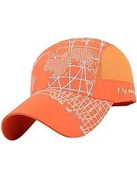 0ad493176dd MagiDeal Men Women Summer UV Protection Sports Clothing Accessory Sun Visor  Adjustable Hat Cap Orange