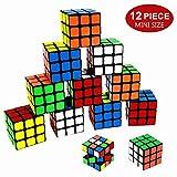 Best Rubiks Cubes - Original Color Party Puzzle Toy,12 Pack Mini Cubes Review