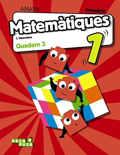 Matemàtiques 1. Quadern 3. (Peça a peça)