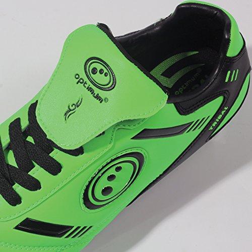 Optimum Tribal - Chaussures de Rugby - Homme Fluro Green/Black
