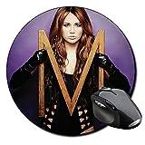 Miley Cyrus Who Owns My Heart Tapis De Souris Ronde Round Mousepad PC