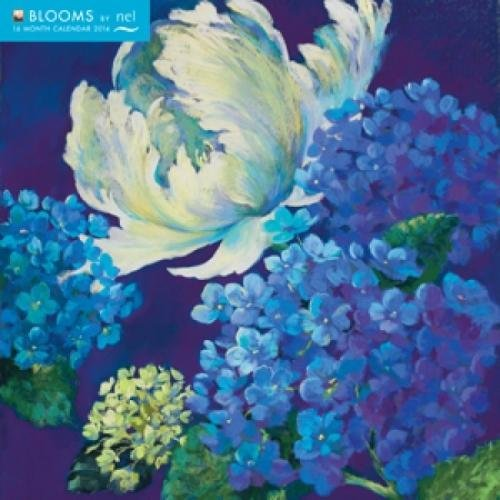 Blooms by Nel 2014 Calendar: With Glittered Cover