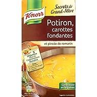 Knorr Secrets De Grand-Mère, Potiron, Carottes Fondantes Et Pincée De Romarin - ( Prix Par Unité ) - Envoi Rapide...