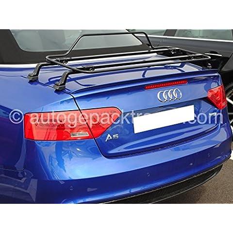 Audi A5Cabrio Cabriolet Portapacchi Bot porta in Nero. Beautiful porta Made in Italy