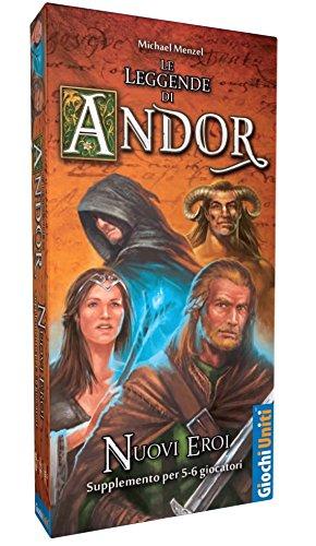 Giochi Uniti GU392 - Gioco Le Leggende di Andor: Nuovi Eroi