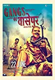 #4: Love st. - Gangs of Wasseypur 1 & 2 Bollywood Funky quirky Posters - Dialogues poster - Posters for Home and office quirky poster 12x18