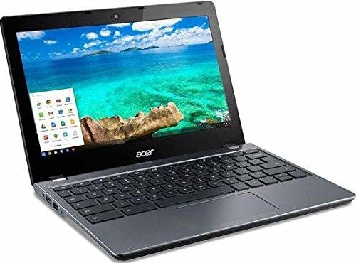 Acer Chromebook (C740-C3DY) 29,46 cm (11,6 Zoll HD matt) Netbook (Intel Celeron 3205U, 2GB RAM, 32GB SSD, Intel HD, Chrome OS) granit grau