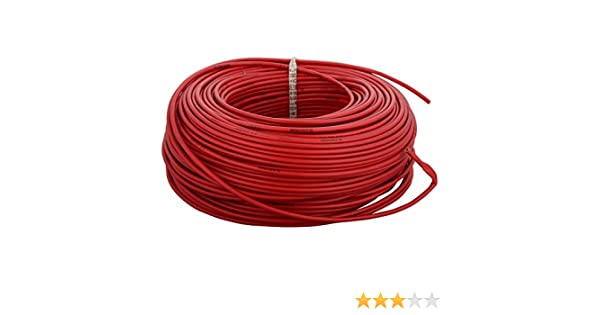 Anchor Insulated Copper PVC Cable 2 5 Sq mm Wire (Red)