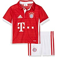 adidas Bayern Fc H Mini Chándal, Niños, Rojo / Blanco, 3-4 años