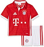 adidas Baby Trainingsanzug FC Bayern München Mini-Heimausrüstung, FCB True Red/White, 104