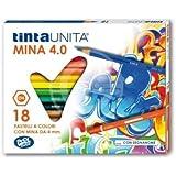 Pool Over - Tintauni 040700.01 Pastelli Tinta Unita da 18 Mina, 4 mm