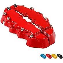 Cibeat - Juego de 2 Piezas de calibradores de Freno 3D, Color Brillante, Estilo