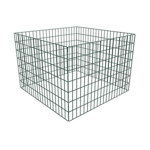 Zora Walter Grillage de Jardin en Maille carrée, Dimensions : 100 x 100 x 70 cm