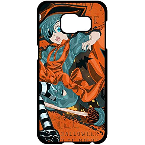 GalaxyS6 Custodia glitter's Shop 8841431ZC413372969S6A New Style Faddish Black Butler halloween, per Samsung Galaxy, S6 Edge