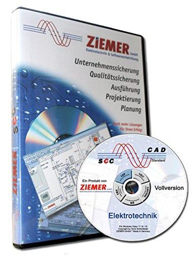 SCC-CAD Standard Elektrotechnik Planungs-Software (Elektro-software)