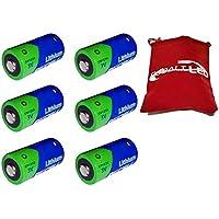 Cobalt®: Batterie CR123A/Litio 3Volt (PKCELL). sostituisce: ricaricabile CR123A CR123123A DL123A VL123A CR123R 2/3A BR2/3A CR17335CR17345EL123AP K123LA l123a PL1235018LC 6