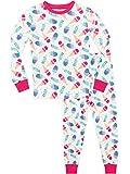 Harry Bear Mädchen Schlafanzug Eiscreme-Träume Slim Fit Weiß 122
