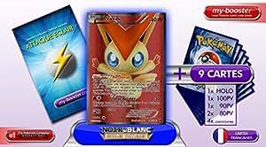VICTINI 98/101 Full Art 60PV Nobles Victoires - Booster optimisé Attaque Eclair de 10 cartes pokemon Francaises