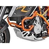 KTM 990 Supermoto SM / SMR / SMT BJ 2008-13 Sturzbügel Schutzbügel Sturzschutz Motor Crash Bars orange IBEX