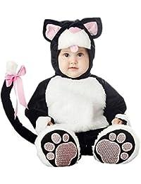 Alivier Unisex bebé lindo mono de cremallera pijamas niño disfraz ...