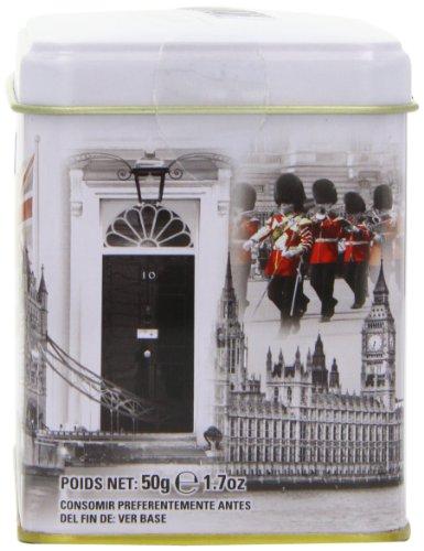 New English Tee London Auswahl English Breakfast Teebeutel Dose (1Stück, Gesamt 25Teebeutel)