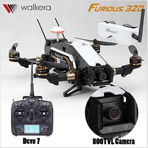 XT-XINTE Walkera Furious 320 GPS FPV Quadcopter TVL800 Camera Devo7 2.4G Transmitter Goggle2 Glasses OSD CFP Modular