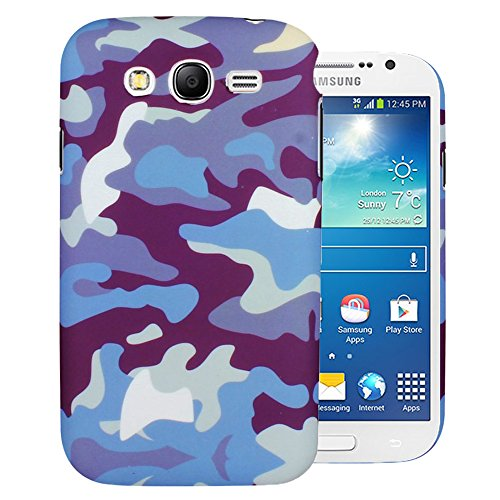 Heartly Army Style Retro Color Armor Hybrid Hard Bumper Back Case Cover For Samsung Galaxy Grand Duos I9082 / Galaxy Grand Neo GT-I9060 / Galaxy Grand Neo Plus I9060I - Navy Blue  available at amazon for Rs.269