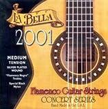 CUERDAS GUITARRA FLAMENCA - La Bella (2001F/HT) Fuerte (Juego Completo)