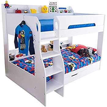 Flair Furnishings Flick Bunk Bed Wood White