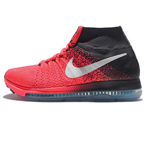 nike Womens Zoom All Out Flyknit Running Trainers 845361 Sneakers Shoes (US 9.5, hot punch white anthracite 600) (Nike-4 V3)