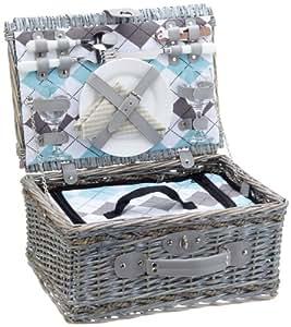 cilio 155716 picknick korb stresa deluxe 2 personen. Black Bedroom Furniture Sets. Home Design Ideas