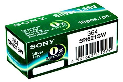 SONY - SR621SW, 364 / 10 unidades